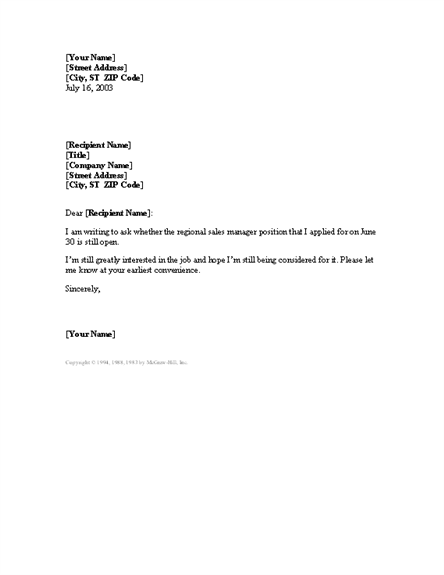 Letter To Recipient Who Apply After The Last Date Useful